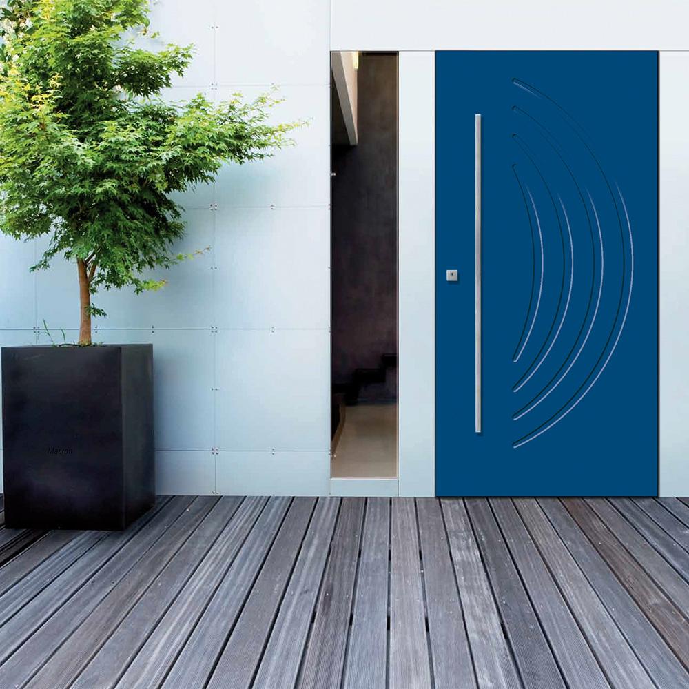 Colori Pannelli Porte Blindate dierre - pannelli alluminio serie p